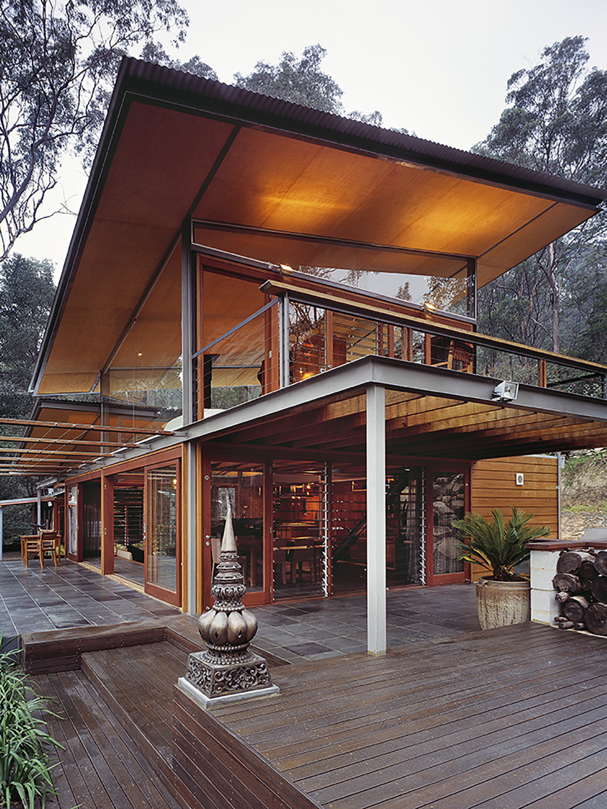 House in the Bush | Sustainable Sydney Architects | CplusC ...